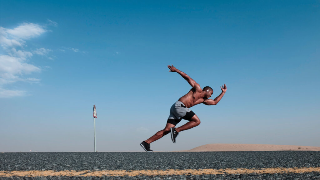 Running for fitness holistic health
