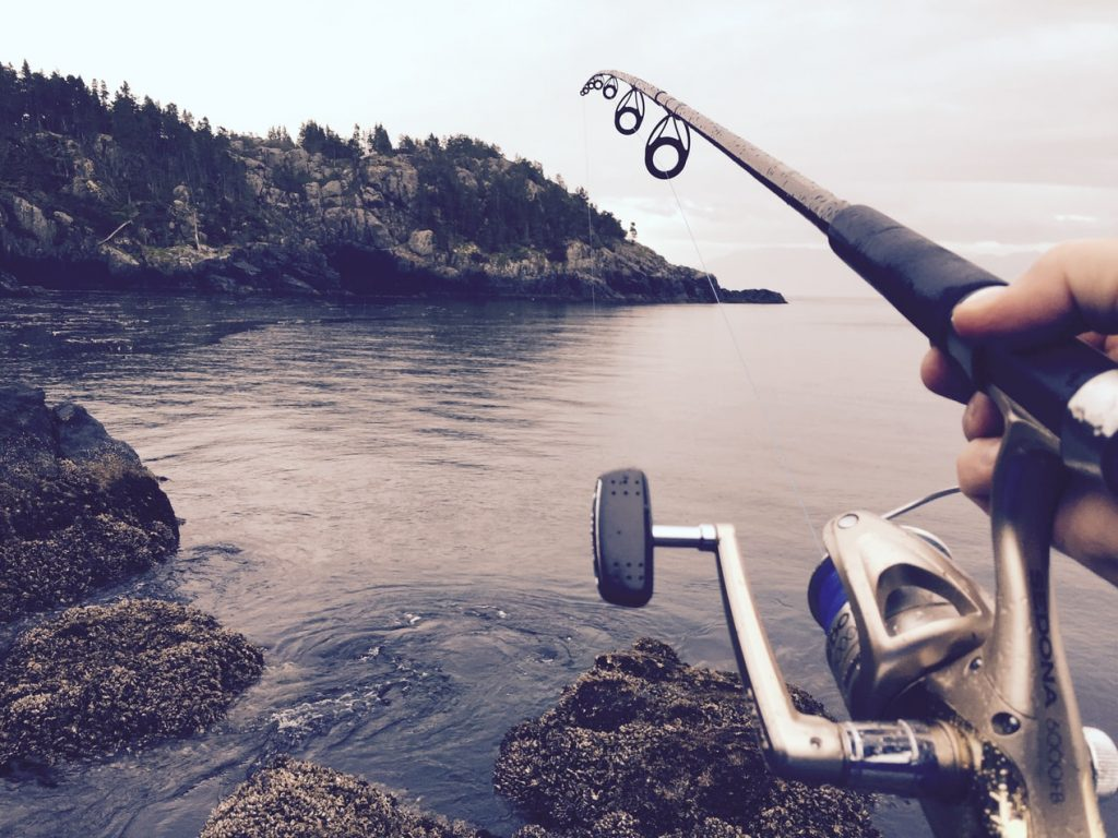 Man fishing as a hobby to Cultivate good mental health